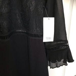 Tobi Dresses - NWT TOBI Deep V Dress Small
